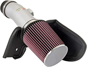 K&N Cold Air Intake Kit with Washable Air Filter:  2007-2014 Honda/Acura (Accord, Crosstour, TL) 3.5L and 3.7L V6, Polished Metal Finish with Red Oiled Filter, 69-1210TS