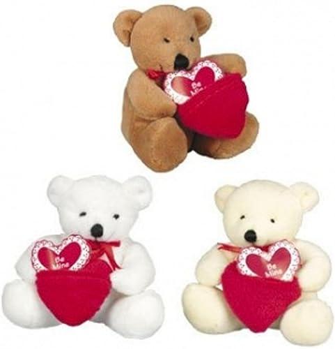 tienda de venta en línea Dozen Plush Valentine Bears with with with Pocket Be Mine Hearts - Bulk Wholesale Toys by FX  buscando agente de ventas