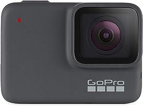 دوربین GoPro مدل HERO7 با بسته بندی اقتصادی - دوربین دیجیتال ضد آب با صفحه نمایش لمسی و کیفیت ضبط ویدئو 4K و عکاسی 10 مگاپیکسل - همراه با پایدار کننده پخش زنده
