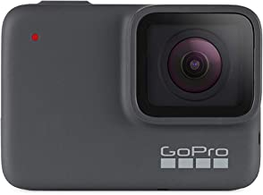$169 » GoPro HERO7 Silver - E-Commerce Packaging - Waterproof Digital Action Camera with Touch Screen 4K HD Video 10MP Photos Live Streaming Stabilization
