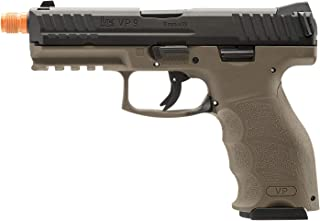 Elite Force HK Heckler & Koch VP9 GBB Blowback 6mm BB Pistol Airsoft Gun, FDE