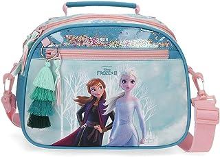 Neceser Frozen Find Your Strenght Adaptable con Bandolera, Azul, 25x19x10 cms