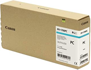 Canon PFI-1700 700ml Photo Cyan Pigment Ink Tank for imagePROGRAF PRO-2000, PRO-4000, PRO-4000S and PRO-6000S Large-Format...