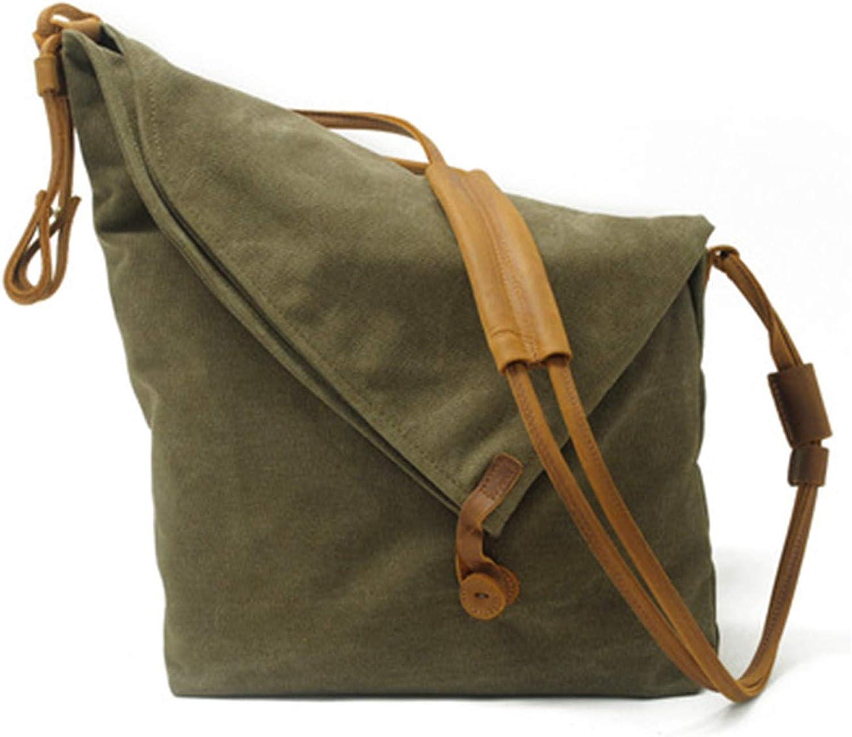 Yuetanus Ladies Vintage Art Canvas Crossbody Bag