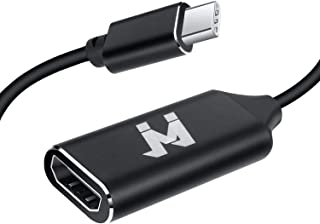 JVJ USB Type C HDMI 変換ケーブル 4K Thunderbolt 3対応 iPad pro/Macbook Pro/Air/Surface/SAMSUNG Galaxy/Huawei Mate 対応 その他USB-C機器対応 ...