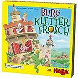 Haba 303631 - Burg Kletterfrosch | Spannendes Memo- und Geschicklichkeitsspiel mit 3D-Aufbau und...