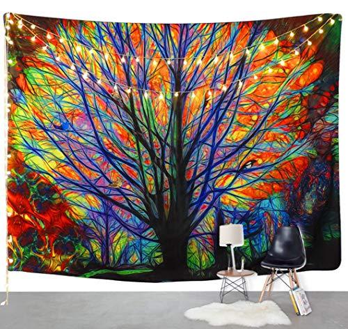 Grsafety Tapicería, Lona para Dormitorio - impresión Textil Colgar en la Pared decoración de la Pared Mesa sofá Conjunto Manta de Picnic Cortina