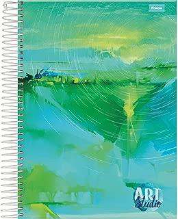 Caderno de 10 Matérias, Foroni 8011, Multicor, Pacote com 4 Unidades