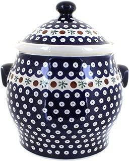 Polish Pottery Nature Cookie Jar