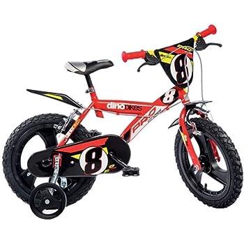 Mediawave Store Bicicletta Bambino Dino Bikes 124 RL-LB Misura 12 Miraculous Bici et/à 3-5 Anni