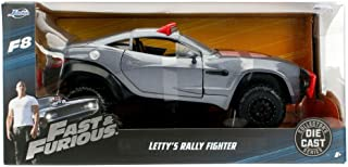Jada Toys Fast & Furious 8 Diecast Letty's Rally Fighter Vehicle (1:24 Scale)