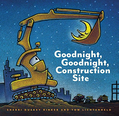 Goodnight, Goodnight Construction Site (Hardcover Books for Toddlers, Preschool...