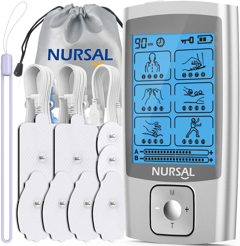 TENS Unit Muscle Limited time cheap sale Stimulator for Pain Relief Therapy M Popular standard 24 NURSAL