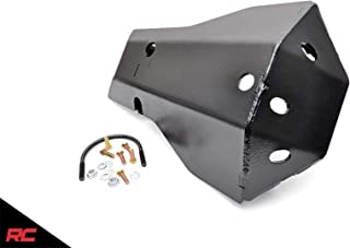 Rough Country Rear Dana 44 Diff Skid Plate Compatible w/ 2007-2018 Jeep Wrangler JK Differential Armor 799