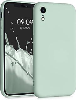 kwmobile telefoonhoesje compatibel met Apple iPhone XR - Hoesje voor smartphone in Frosty Mint
