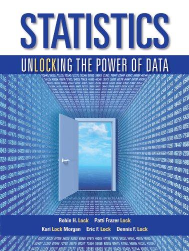Statistics: Unlocking the Power of Data 1e + WileyPLUS Registration Card