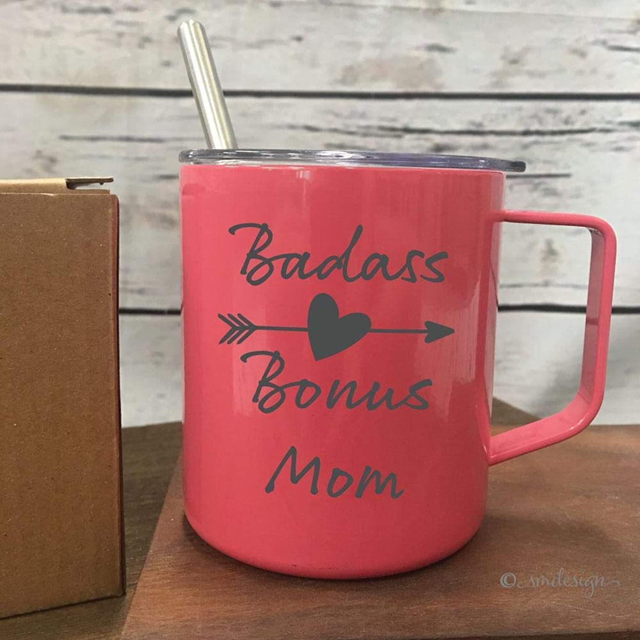 Badass Bonus Mom Coffee Mug- Badass Step Mom Coffee Mug Mothers Day Gift Coffee Drinker Gift For Coffee Drinker Drink Coffee Gift For Mom