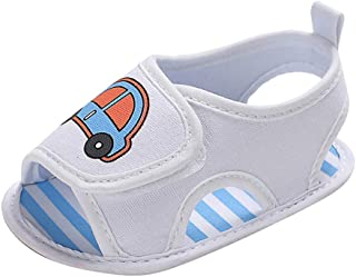 Cloudro Infant Baby Boy Soft Sole Shoes Non-Slip Single Shoes for 0-18