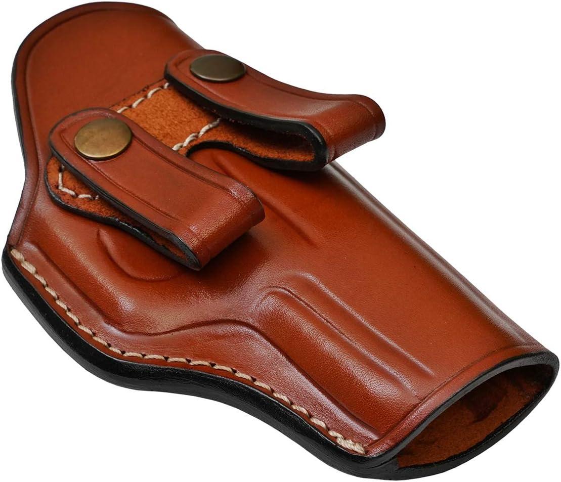 IWB Leather Holster for Taurus 856 Defender 3