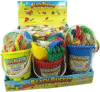 beach bucket toys n treats