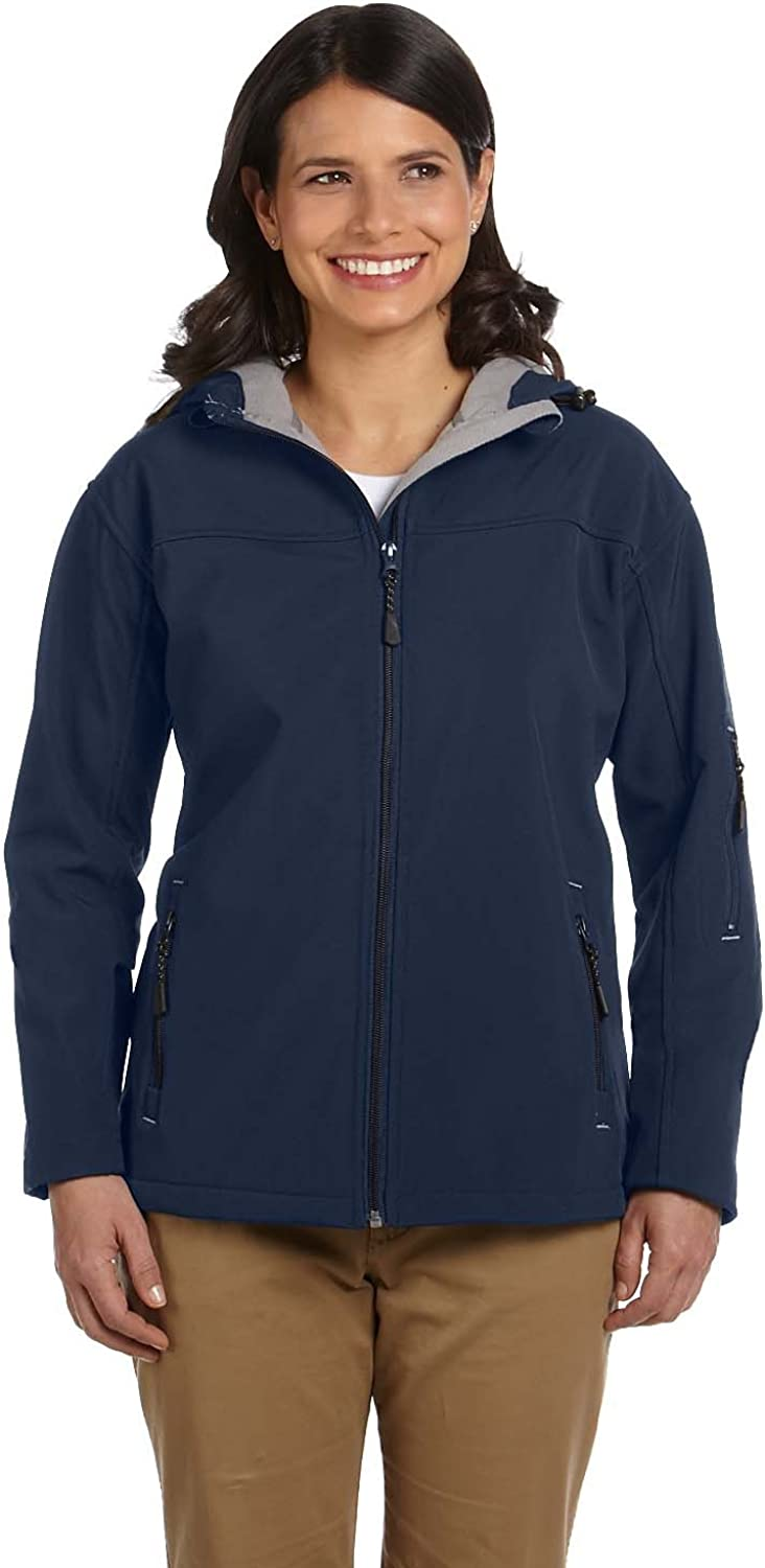 Devon & Jones Women's Hooded Soft Shell Jacket