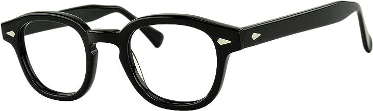 Verona Love Non Prescription Eyeglasses Frame High End Fashion Eye Wear Clear Vintage Style Glasses Frames For Men and Women VLV46 C001