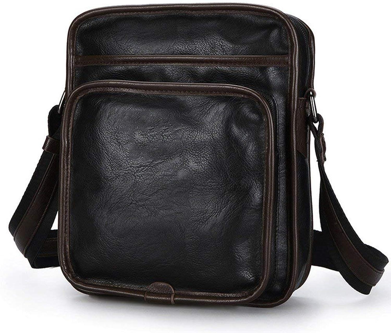 SFHTFTRGJRYJ Handtaschen Gaoyang Mnner Messenger Bag Schultertasche Herren Tasche Casual Diagonal Bag Mode Living Grünikalschnitt Taschen (Farbe   Colour, Größe   One Größe)