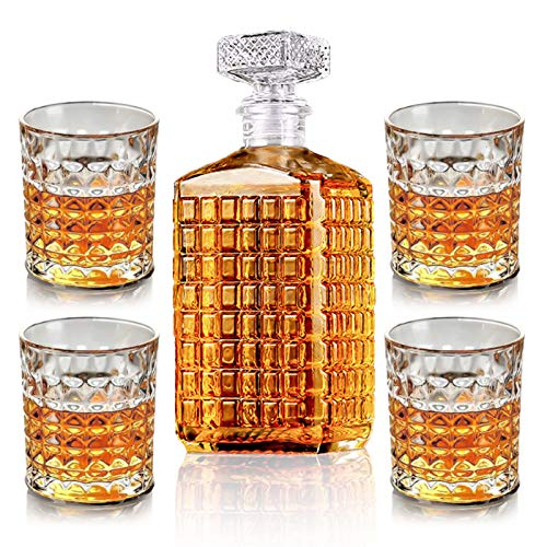 New rui cheng Vaso de Vino de Whisky 1 Botella de 17oz...