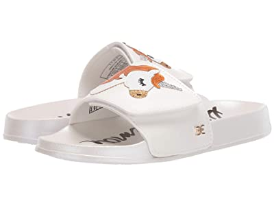 Sam Edelman Kids Mackie Magic (Little Kid/Big Kid) (White Pearlized PU) Girls Shoes