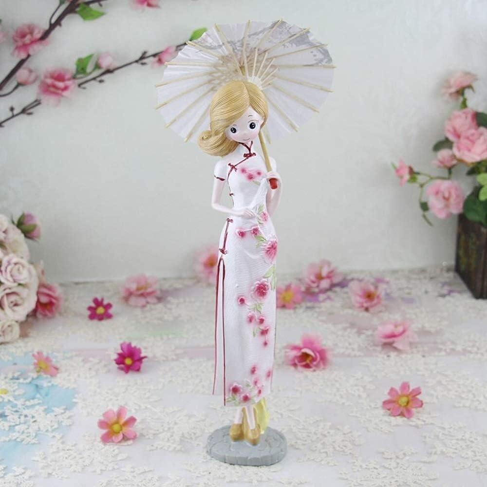 Home Decor High order Cheongsam Beauty Resin Max 74% OFF Room Craft Living Des Bar