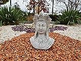 Escultura de piedra del busto de Buda Khmer
