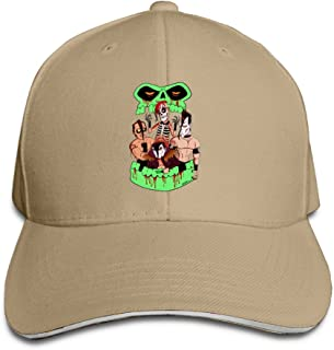 The Misfits Saturday Night Astro Zombies Style Hats Sandwich Peaked Caps
