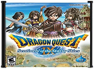 Dragon Quest IX: Sentinels of the Starry Skies Game Fabric Wall Scroll Poster (21