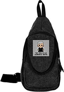 AHISHNF Lil Father Ted That Would Be An Ecumenical Matter Bolsas de Pecho para Hombre y Mujer, Multiusos, Casual, Mochila ...
