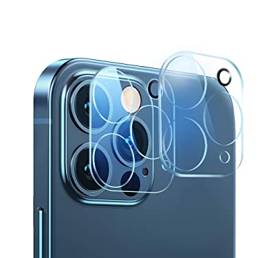 JanCalm for iPhone 12 Pro Max Camera Lens Protector,Ultra-Thin HD Clear,Scratch Resistant,Anti-Fingerprint,Easy Installation,Case Friendly,9H Hardness Tempered Glass Designed for iPhone 12 Pro Max Lens Cover (6.7 inches)
