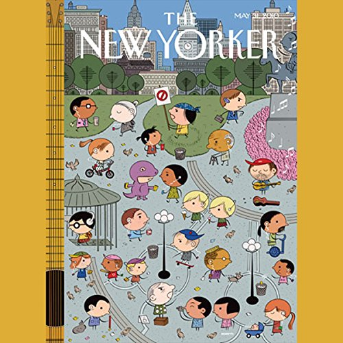 The New Yorker, May 31st, 2010 (William Finnegan, Jerome Groopman, Gay Talese) cover art