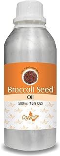 Crysalis Broccoli Seed Oil (Brassica oleracea var. italica) 100% Natural Pure Undiluted Uncut Carrier Oil 500ml