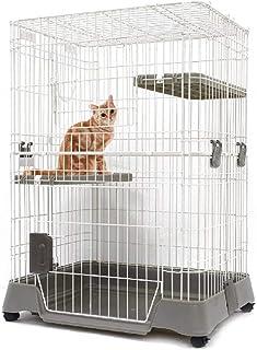 マルカン キティケージ 1000 グレー 猫用