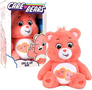 Care Bears 22084 14 Inch Medium Plush Love-A-Lot Bear, Collectable Cute Plush Toy, Cuddly Toys for Children, Soft Toys for...