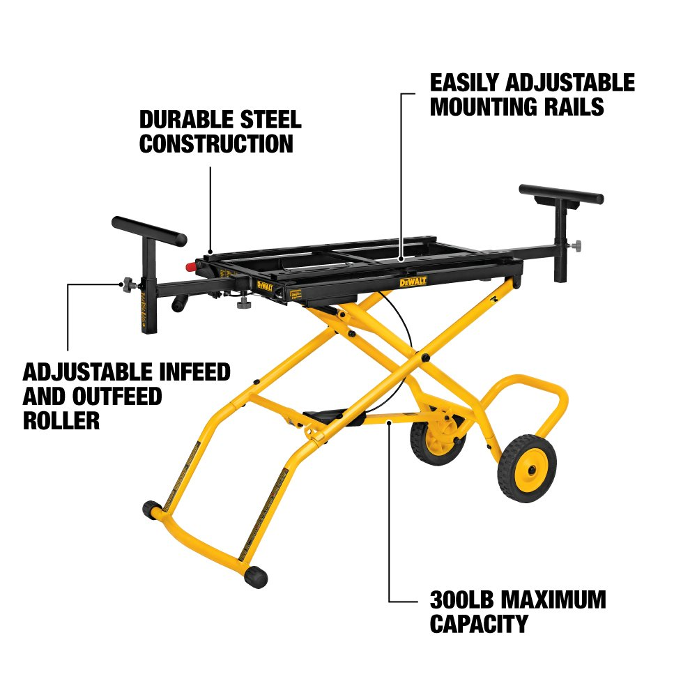Rolling Miter Saw Stands - DWX726