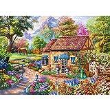 Puzle de 1000 piezas, puzzle para adultos, puzle clásicos, coloridos juegos de juego, juego de habilidad para toda la familia, jardín secreto
