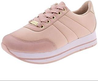 Tênis Feminino Flatform Moleca - 5627119 Rosa