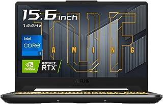 ASUSTek ゲーミングノートパソコン TUF Gaming F15 FX506HC(Core i7-11800H/RTX 3050 Laptop GPU/16GB・512GB/15.6インチ/FHD/144Hz/Webカメラ/グレー/Win...