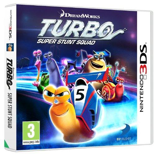 Nintendo Turbo: Super Stunt Squad, 3DS Nintendo 3DS Alemán, Inglés, Español, Francés, Italiano vídeo - Juego (3DS, Nintendo 3DS, Racing)