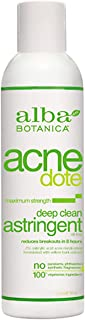 Alba Botanica Acnedote Maximum Strength Deep Clean Astringent, 6 Oz