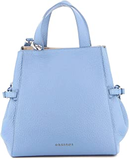 Luxury Fashion   Orciani Womens B02067SOFTORTENSIA Light Blue Handbag   Spring Summer 20