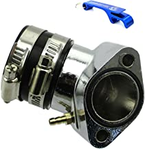 TC-Motor 27mm Performance Racing Intake Manifold For GY6 125cc 150cc Chinese Moped Scooter Go Kart Buggy For Tomberlin Crossfire 150 150R For Hammerhead 150 GT/GTS/SS For Carter Talon 150 For Dazon Ra