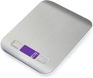 GPISEN Báscula Digitales de Precisión 5 kg/11 lbs,pesar Frutas,Granos,Carne u otro Líquido Báscula de Joyería,con Pantalla...