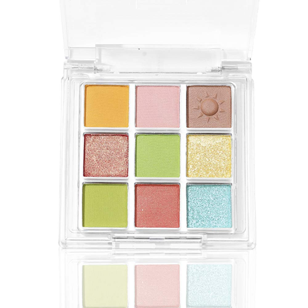 Eyeshadow Makeup Palette store Matte Shimmer Colors High 9 Pigmented Translated