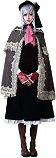 Women's Bloodborne Doll Cosplay Costume with Hat
